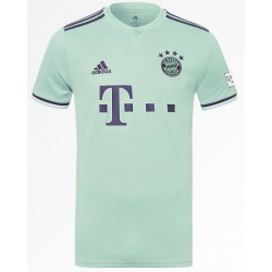 Bayern munchen away green soccer jersey 2018-201
