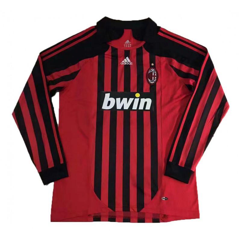 AC Milan Shirt Retro,AC Milan Retro Shirt,2007-2008 AC ...
