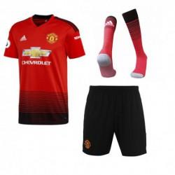 Manchester united home soccer full kit