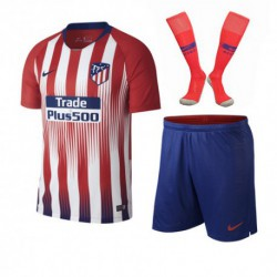 Atletico madrid home soccer full kit