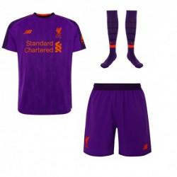 Liverpool away soccer full kit