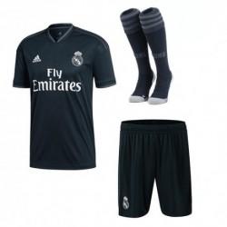 Real madrid away soccer full kit