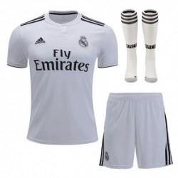 Real madrid home soccer full kit