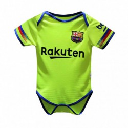 Baby Barcelona Away Yellow Green Infant Crawl Suit 2018-201