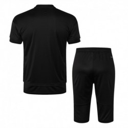 Real madrid grey short training suit 201