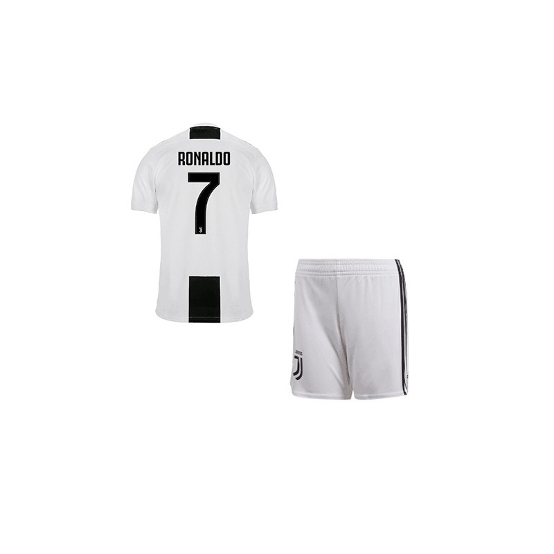 sale retailer 9b544 4ac49 Cristiano Ronaldo Soccer Uniform,Real Madrid Ronaldo Uniform,Youth Juventus  Ronaldo Home Uniform 2018-2019,Jersey+Shorts