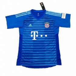2018-2019 bayern munchen blue goalkeeper soccer jerse