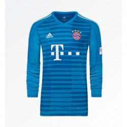 2018-2019 bayern munchen blue goalkeeper long sleeve soccer jerse