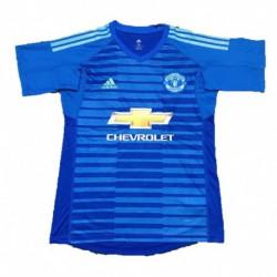 2018-2019 manchester united blue goalkeeper soccer jerse