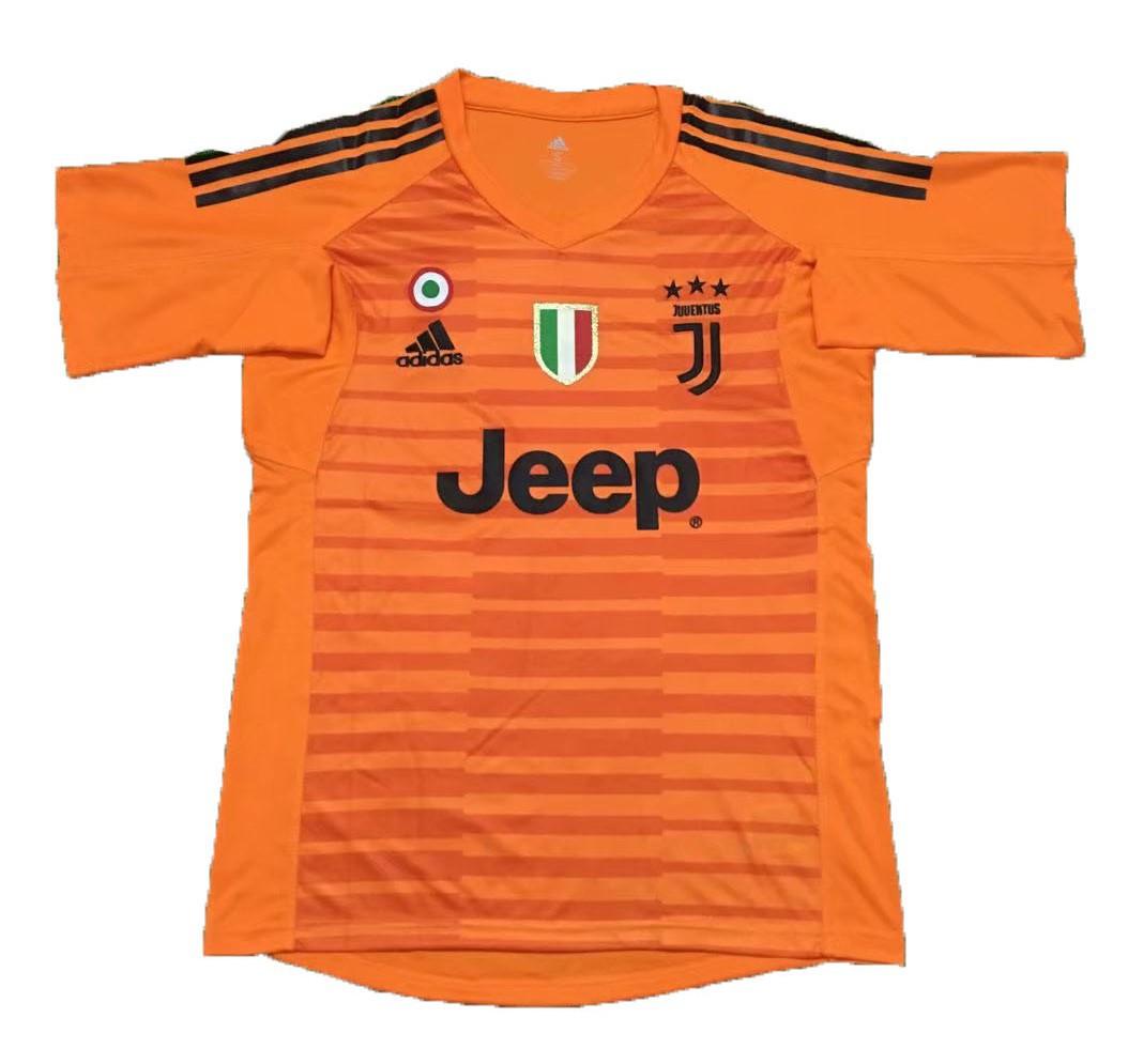 juventus goalkeeper kit 2019 juventus 2019 20 kit 2018 2019 juventus orange goalkeeper soccer jersey jerseyares