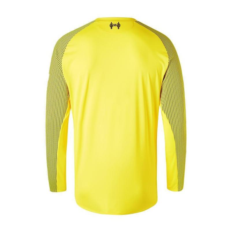 Yellow Liverpool Goalkeeper Kit Liverpool Goalkeeper Kit 2019 Liverpool Yellow Goalkeeper Long Sleeve Jersey 2018 2019