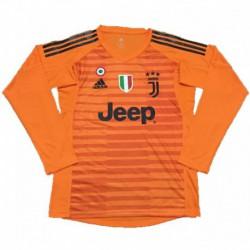 2018-2019 juventus orange goalkeeper long sleeve soccer jerse