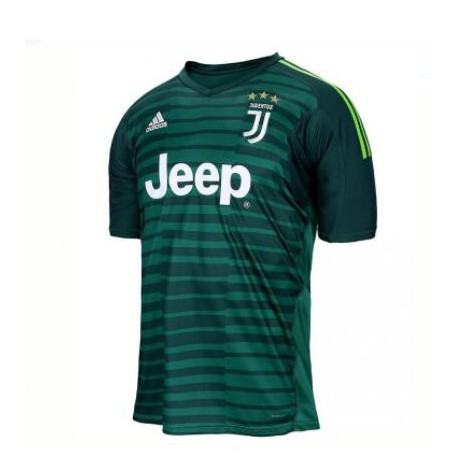 detailed look e3b83 a42b8 Juventus New Green Kit,Juventus Away Kit Green,2018-2019 Juventus Green  Goalkeeper Soccer Jersey