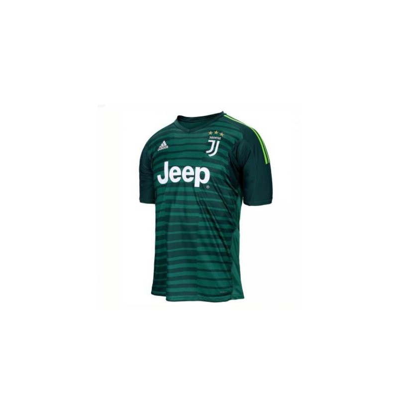 detailed look 366d1 e7197 Juventus New Green Kit,Juventus Away Kit Green,2018-2019 Juventus Green  Goalkeeper Soccer Jersey