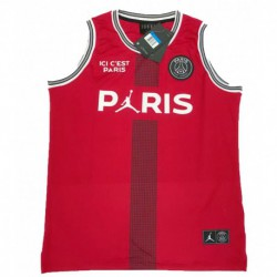 Jordan X Paris Saint-germain Red Vest 2018-201
