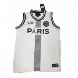 Jordan X Paris Saint-germain White Vest 2018-201