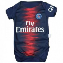 Baby Paris PSG Home Blue Infant Crawl Suit 2018-201