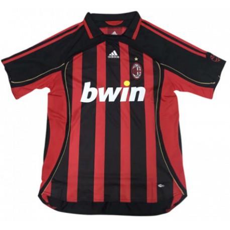 Ac Milan Home Shirt Cheap Inter Milan Shirt 2006 2007 Ac Milan Home Retro Soccer Jersey Shirt