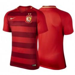 Guangzhou evergrande taobao football club red soccer jerseys 2017-1