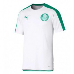 Palmeiras white training soccer jersey 2019-202