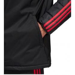 Manchester united black hoodie jacket 2018-201