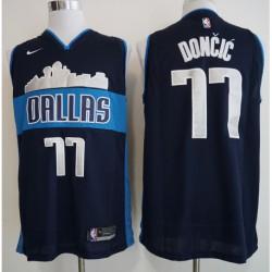 Men NBA Dallas Mavericks 77 Doncic City Edition Jersey-201