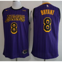 Men NBA Los Angeles Lakers 24 Bryant Icon Edition Swingman Jersey-201