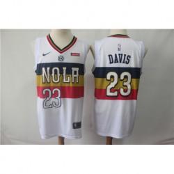 Men NBA New Orleans Pelicans 23 Davis Jersey-201