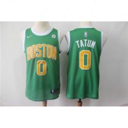 Men NBA Boston Celtics 0 Tatum Green Jerse