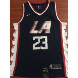 Men NBA Los Angeles Clippers 23 WILLIAMS Simmons Swingman City Edition Jerse