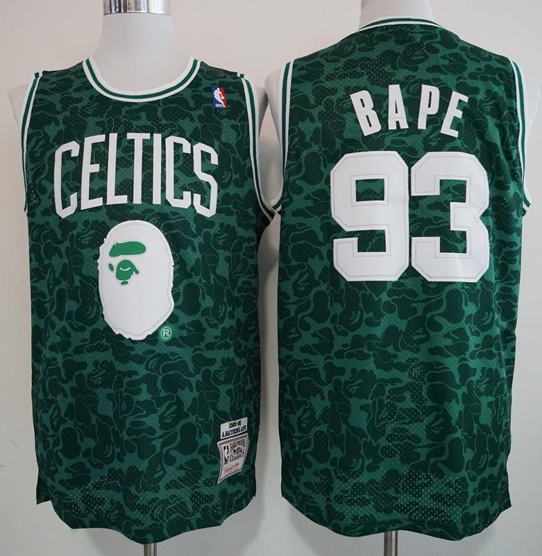 boston celtics black jersey