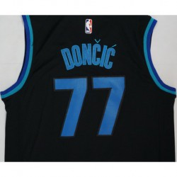 Men NBA Dallas Mavericks 77 Doncic Simmons Swingman City Edition Jerse