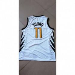 Men NBA Atlanta Hawks 11 Young Simmons Swingman City Edition Jerse