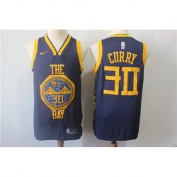 Men NBA Golden State Warriors 30 Curry Swingman Jerse