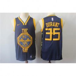 Men NBA Golden State Warriors 35 Kevin Durant Swingman Jerse
