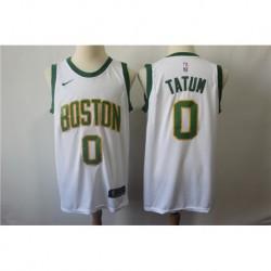 Men NBA Boston Celtics 0 Tatum Statement Swingman Jerse