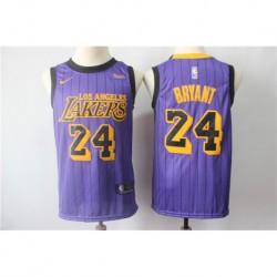 Men NBA Los Angeles Lakers 24 Bryant Icon Edition Swingman Jerse