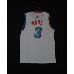 Men NBA Miami Heat 3 Wade Swingman Jersey -2 colo