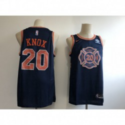 Kristaps porzingis new york knicks city edition jerse