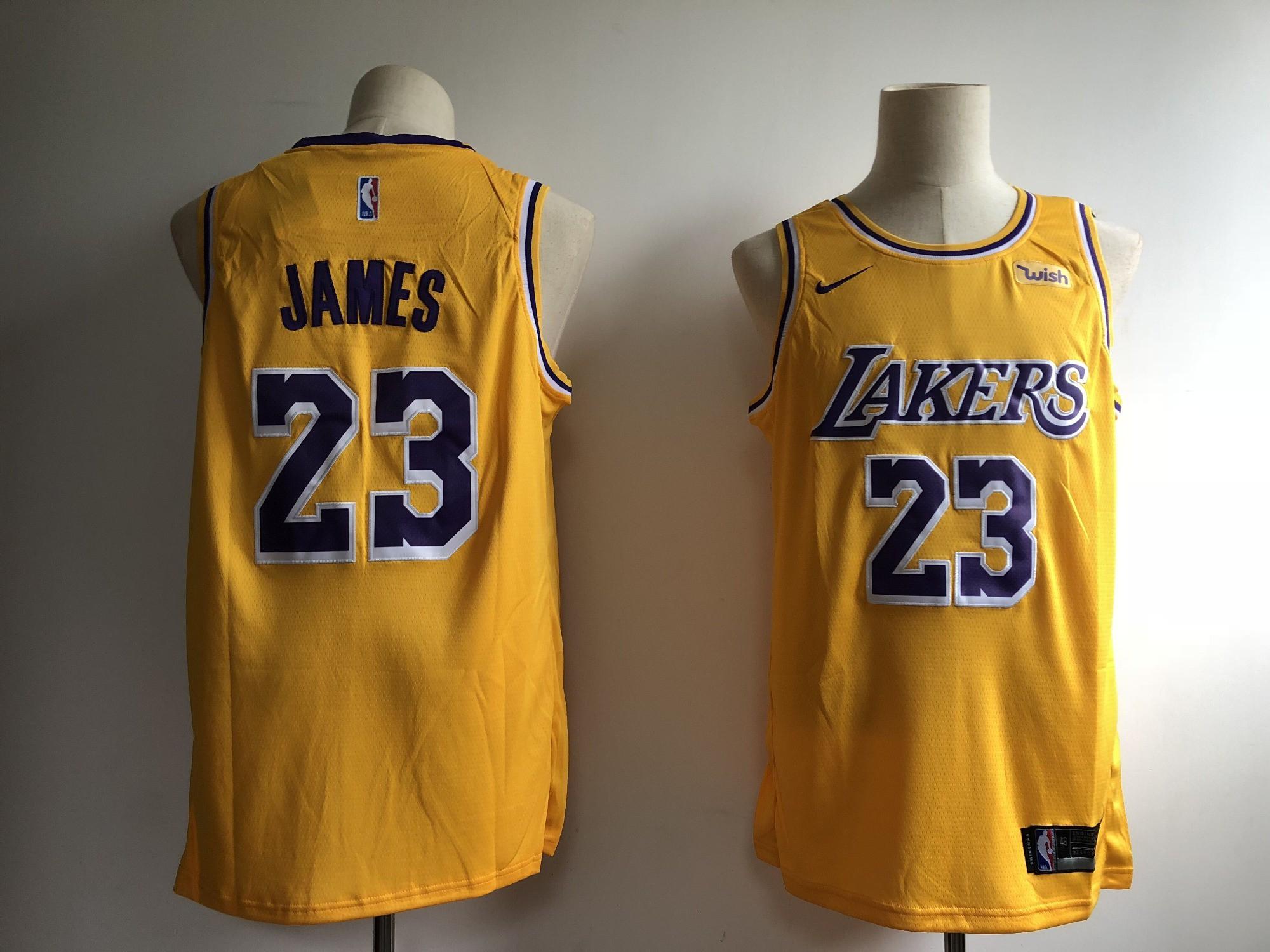 NBA 2k18 Lakers Jersey,Lakers NBA Jersey Nike,Men NBA Los Angeles ...