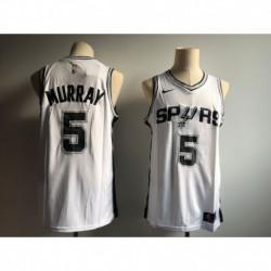 Men NBA San Antonio Spurs 5 Dejounte Murray Swingman Icon Jerse