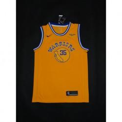 Men NBA Golden State Warriors 35 Kevin Durant Retro Version Jerse