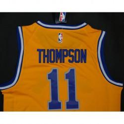 Men NBA Golden State Warriors 11 Klay Thompson Retro Version Jerse