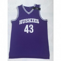 Men 43 huskies jersey moive basketball jersey