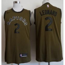 Men NBA Toronto Raptors 2 Kawhi Leonard Swingman Icon Jerse
