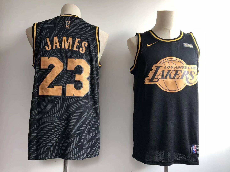 new arrival 8f59d 8b31d City Edition NBA Jersey Lakers,NBA 2k14 Lakers Jersey 2018,Men NBA 2018-19  LeBron James Lakers 23 Icon Edition Swingman Jersey