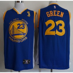 Men NBA 2018-19 draymond green golden state warriors23 blue jersey - Champion Versio