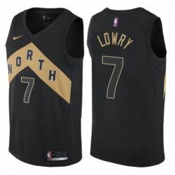 Kyle lowry toronto raptors city edition jerse
