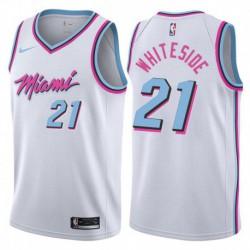 Hassan whiteside miami heat city edition jerse