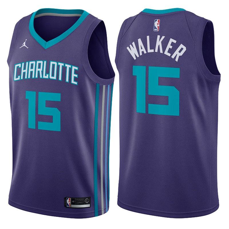 Charlotte Hornets Kemba Walker Association White Swingman Jersey